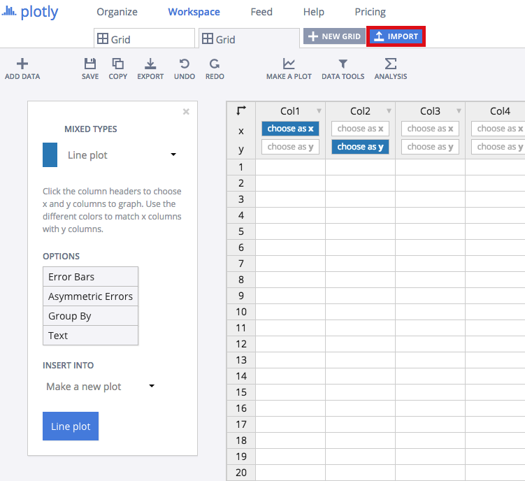 Make A Area Chart Online With Plotly And Excel