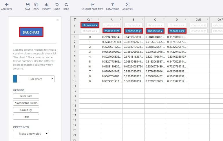 Select data shape
