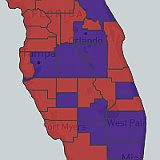 County Level Choropleth